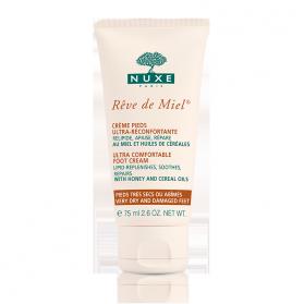 NUXE Rêve de miel crème pieds ultra-réconfortante 75ml