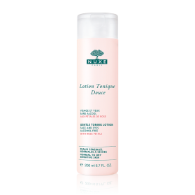 NUXE Lotion Tonique Douce aux pétales de rose 200ml