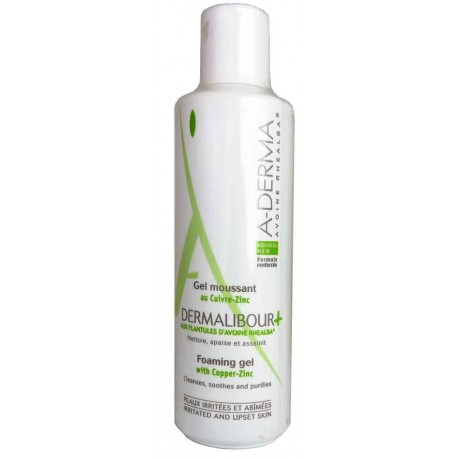 A-DERMA Dermalibour + Gel Moussant 250ml
