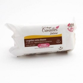 Rogé Cavaillès Lingettes Intimes Protectrices 15 Lingettes