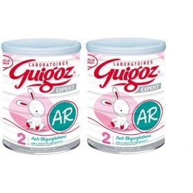 Guigoz EXPERT Lait AR 2 de 6 mois à 1 an lot de 2 boites de 800g