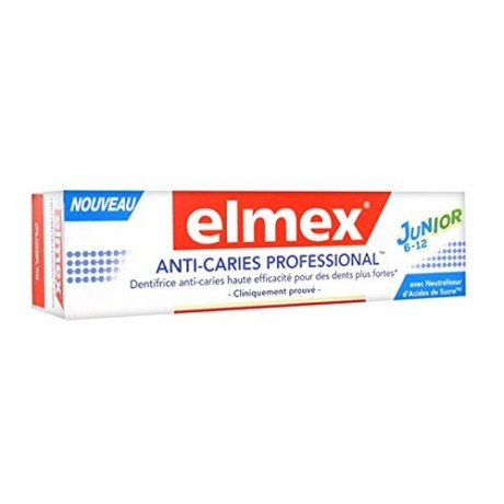 Elmex Anti-Caries Professional Junior 6-12 ans 75ml
