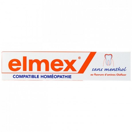 Elmex Dentifrice compatible homéopathie 75 ml