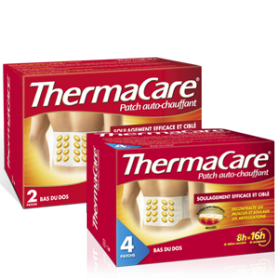 Thermacare Patch Auto-Chauffant Bas du Dos