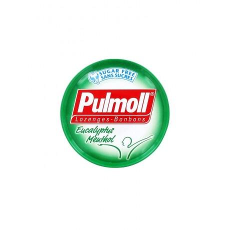 Pulmoll Bonbons Eucalyptus Menthol Sans Sucres 45 g