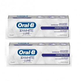 Oral B 3D White Luxe Perfection 75ml Lot 2