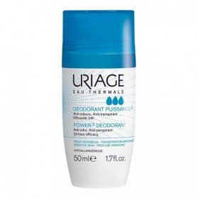 URIAGE déodorant aisselles roll-on puissance 3 50ml