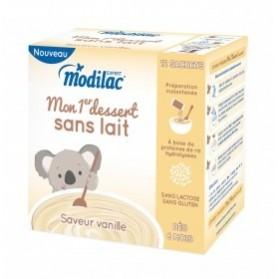 MODILAC Mon 1er dessert sans lait Vanille