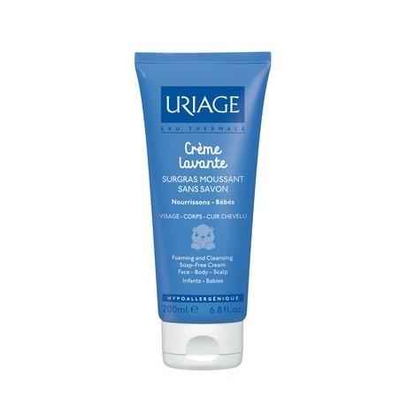 Uriage Bébé Crème Lavante Surgras Moussant sans savon 200ml