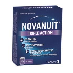 Novanuit Triple Action boite de 30 gélules