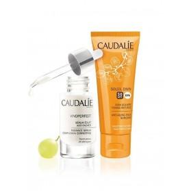 CAUDALIE Coffret Vinoperfect Serum 30ml + solaire Soleil Divin 40ml offert