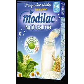 MODILAC Nuit Calme Mes premières Céréales dès 4-6 mois boite de 300g