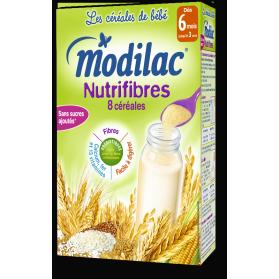 MODILAC Céréales Nutrifibres dès 6 mois boite de 300g
