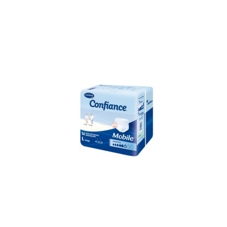 HARTMANN Confiance Mobile Absorption 6 Taille 3 Large sachet de 14 slips absorbants