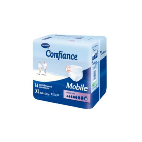 HARTMANN Confiance Mobile Absorption 8 Taille 4 Extra-large sachet de 14 slips absorbants
