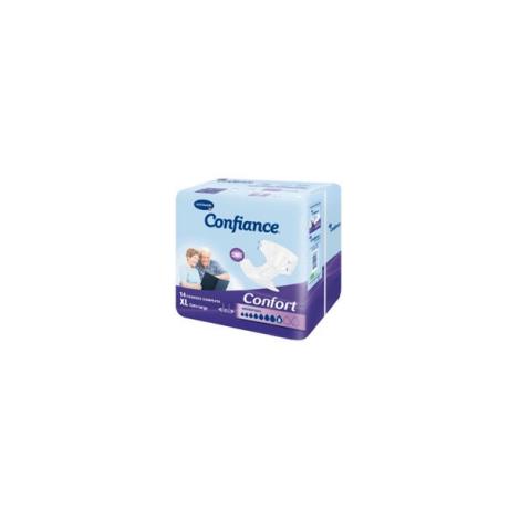 HARTMANN Confiance Confort Absorption 8 Taille 4 extra-large sachet de 14 changes complets