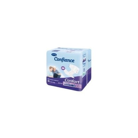 HARTMANN Confiance Confort Absorption 10 Taille 4 Extra-large sachet de 14 changes complets