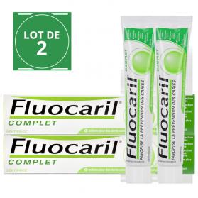 FLUOCARIL Dentifrice - Fluocaril complet lot 2x75ml