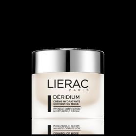 LIERAC DERIDIUM Crème Hydratante Correction Rides Peaux normales à mixtes 50ml