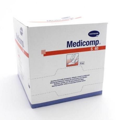 HARTMANN Compresses MEDICOMP stériles Non tissées 10X10 boite de 50