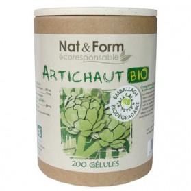 Nat & Form Artichaut Bio 200 gélules