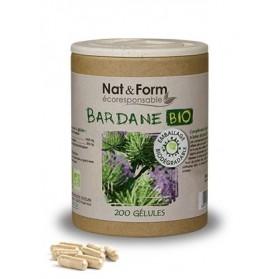 Nat & Form Bardane Bio 200 gélules