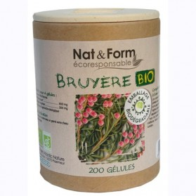 Nat & Form Bruyère Bio 200 gélules