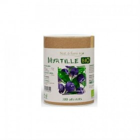 Nat & Form Myrtille Bio 200 gélules