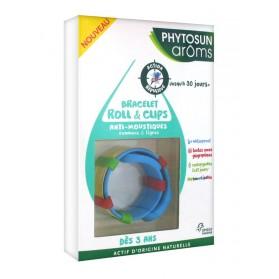 Phytosun Arôms Bracelet Roll & Clips Anti-Moustiques