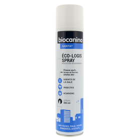 Biocanina Eco-Logis Spray insecticide désodorisant 300ml