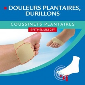 EPITACT Coussinets plantaires à l'epithelium 26 taille 42/44, 1 paire