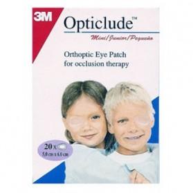 3M OPTICLUDE 20 PANSEMENTS ORTHOPTIQUES POUR ENFANTS 6CM X 5CM boite de 20