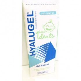 Hyalugel gel buccal 1ères dents sans alcool 20ml