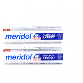 MERIDOL Dentifrice Parodont Expert, lot de 2x75ml