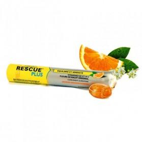 Rescue Coeur Fondant Orange-Sureau - 10 pastilles - Bach