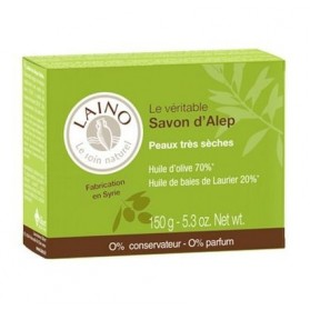 LAINO Le soin naturel le véritable savon d'alep - 150 g
