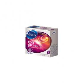 Manix Préservatif Xtra Pleasure 3 préservatifs