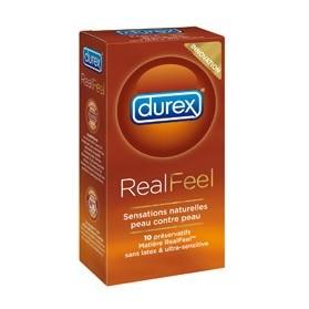 Durex RealFeel 10 Préservatifs