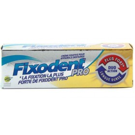 Fixodent Pro Soin Duo Action