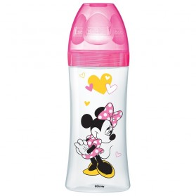 DODIE Biberon Initiation Minnie Fuchsia 330 ml 6+ Mois
