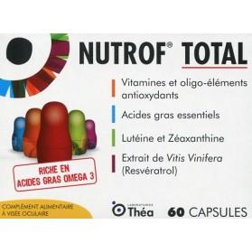 Nutrof Total Complément Alimentaire à Visée Oculaire 60 capsules