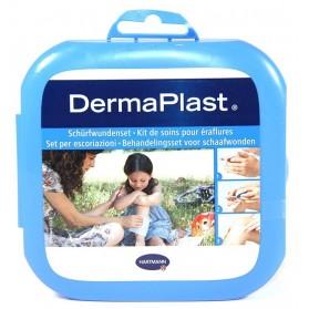 DermaPlast Kit de soins pour éraflures