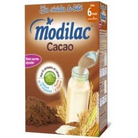MODILAC CACAO CÉRÉALES INFANTILES - BOITE DE 300 G