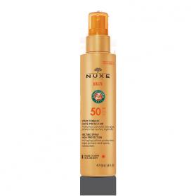 NUXE Spray Solaire Visage et Corps - Haute Protection - SPF 50 - 150ml