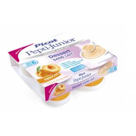 PICOT Pepti-junior Dessert sans lait dès 6 mois 4x100g ABRICOT