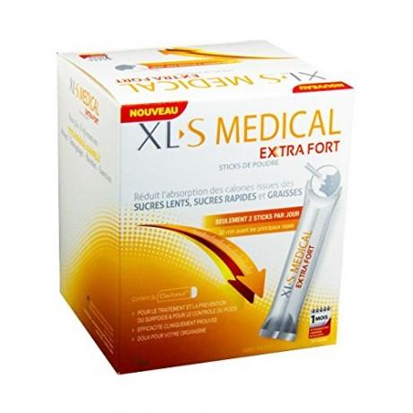 XL-S Medical Extra Fort Boite de 60 sticks