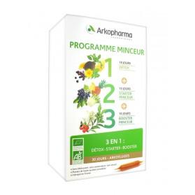 Arkopharma Arkofluides Programme Minceur Bio 3 en 1