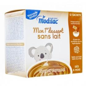 MODILAC Mon 1er dessert sans lait Caramel