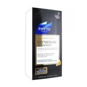 Phyto Phytocolor Sensitive Coloration Permanente 3 Châtain Foncé
