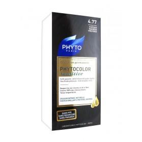 Phyto Phytocolor Sensitive Coloration Permanente 4.77 Châtain Marron Profond